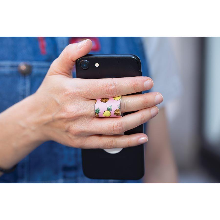 Accesoriu telefon - Tropical Phone Finger Loop - mai multe culori thumbnail