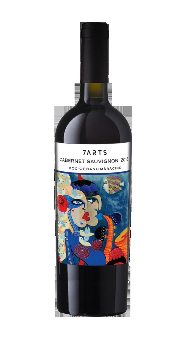 Vin rosu - 7Arts Cabernet Sauvignon Rezerva 2016 thumbnail