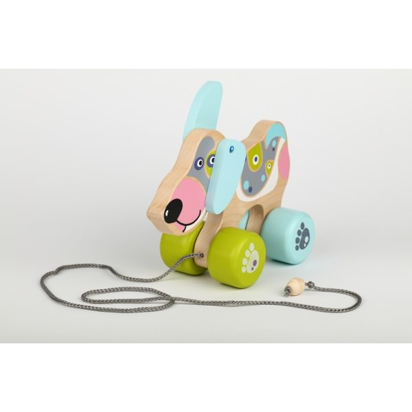 Jucarie din Lemn - Cubika - Happy Puppy thumbnail