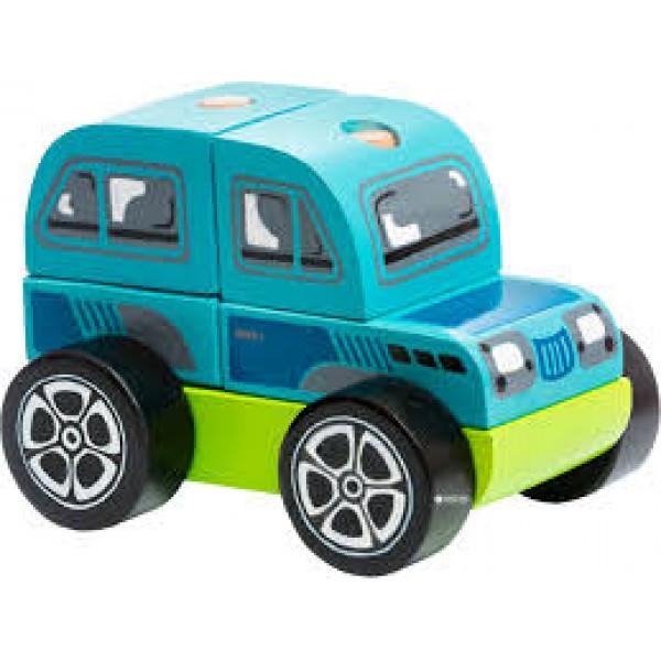Jucarie din lemn - Cubika - Offroad Car thumbnail