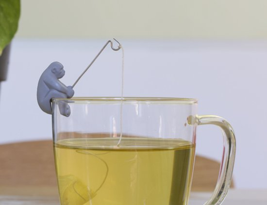 Suporturi pentru pliculete de ceai - Monkey Tea, Monkey Do thumbnail