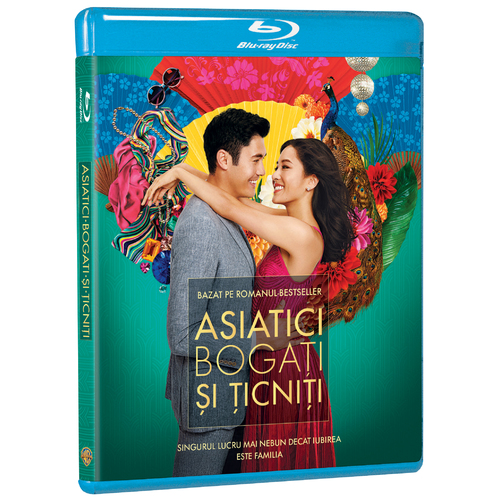 Asiatici bogati si ticniti / Crazy Rich Asians (Blu-Ray) thumbnail