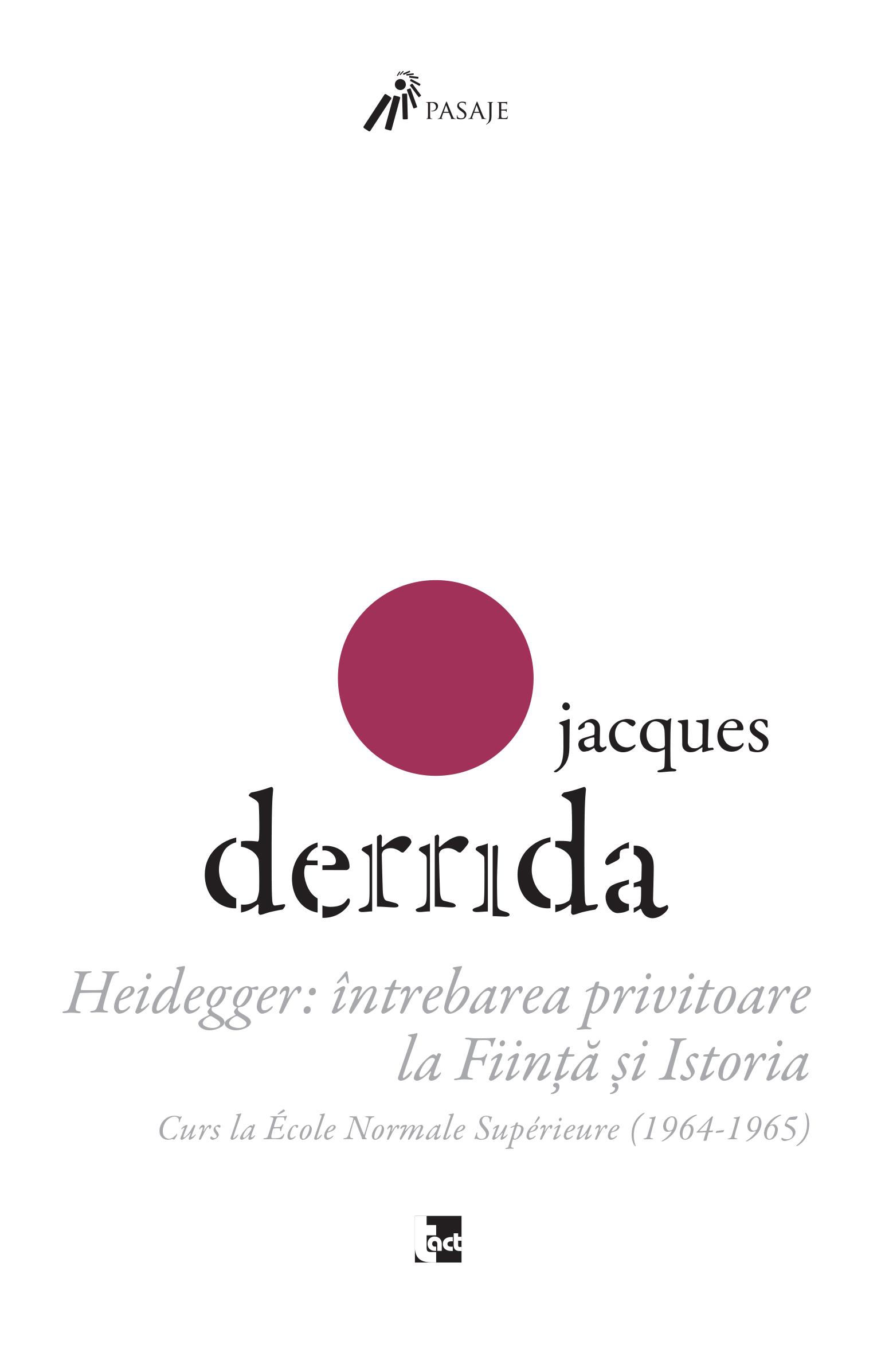 Jacques Derrida – Heidegger thumbnail