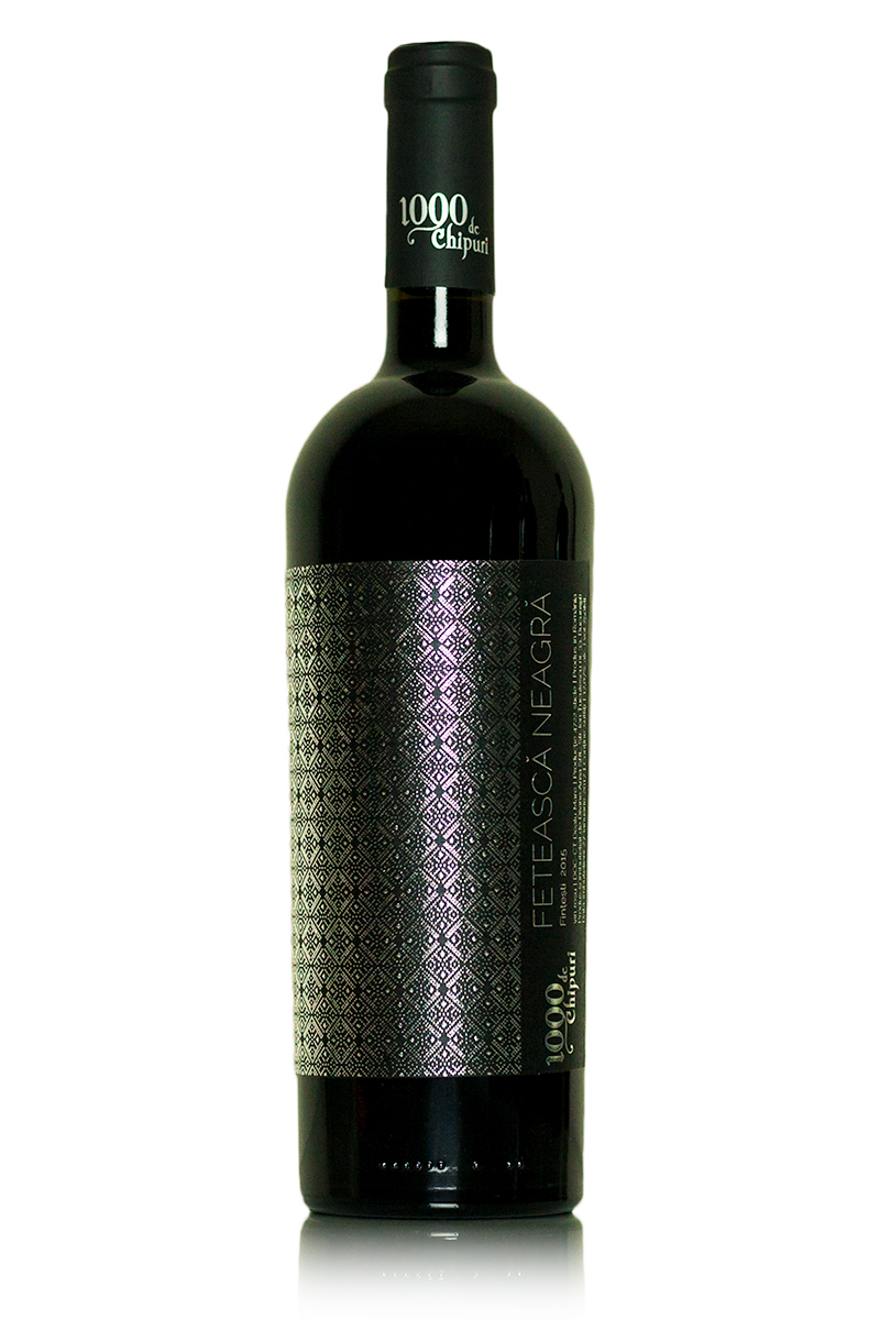 Vin rosu - 1000 de Chipuri / Feteasca Neagra, sec, 2015 thumbnail