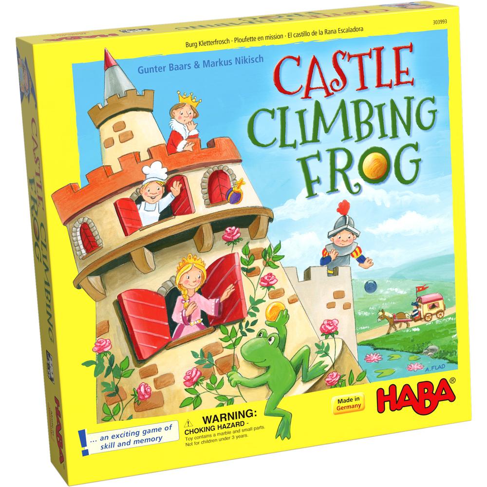 Joc - Broscuta cataratoare pe castel / Castle Climbing Frog | Haba