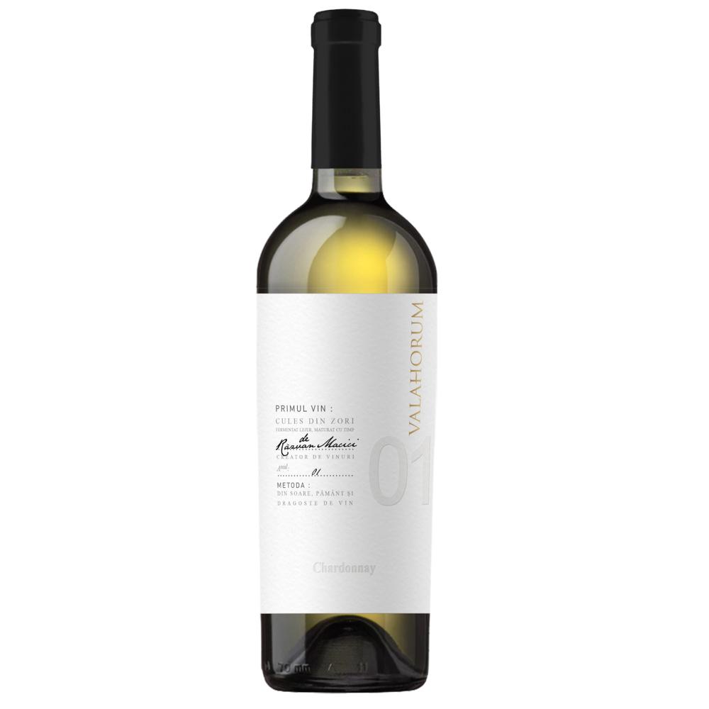 Vin alb - Valahorum / Chardonnay, alb, sec, 2018 thumbnail