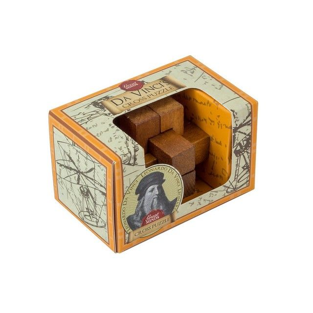 Puzzle - Da Vinci's Cross thumbnail