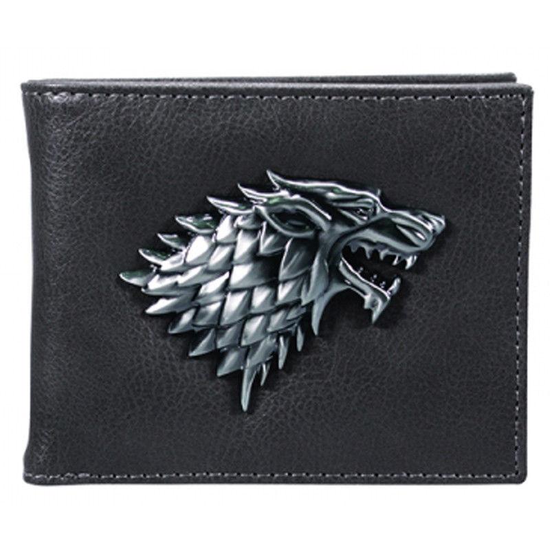 Portofel - Game of Thrones - Wolf Logo thumbnail