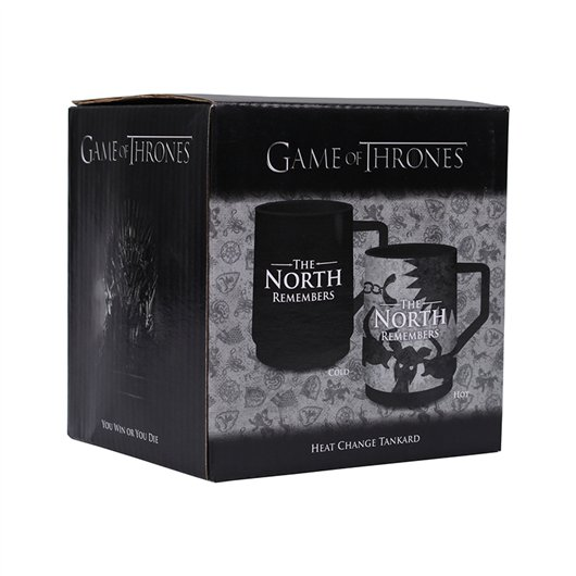Cana - Game of Thrones - Mug effect thermique, North Remember thumbnail