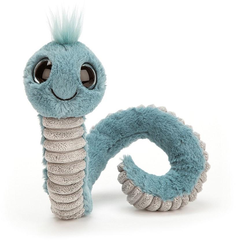 Jucarie de plus - Wiggly Worm Blue thumbnail