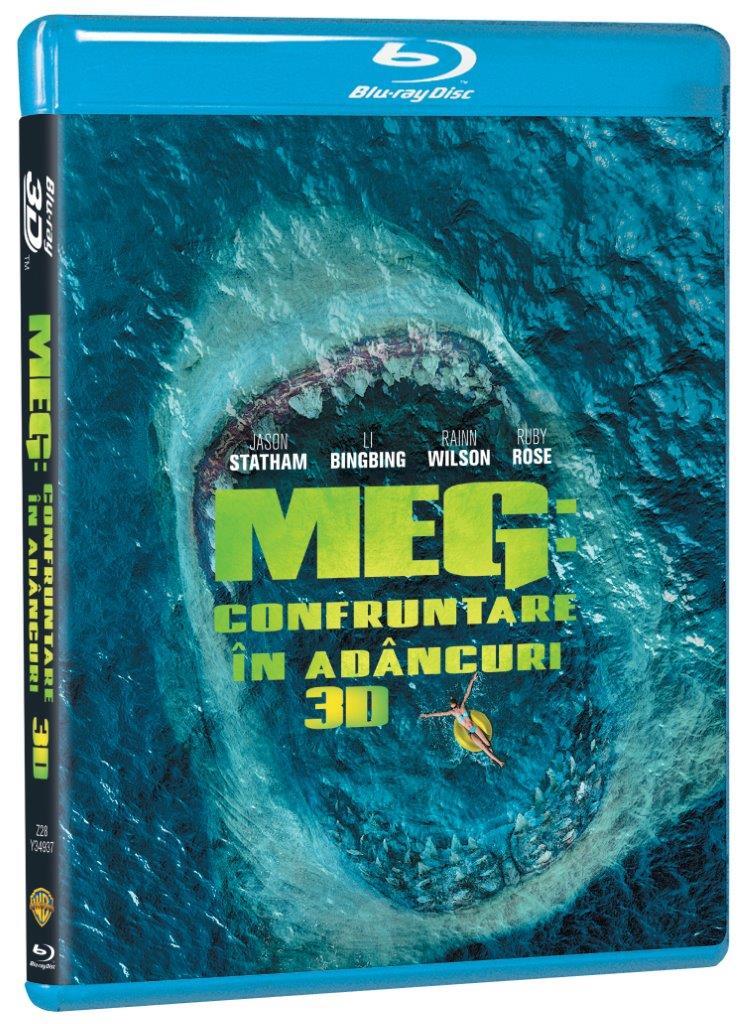 Meg: Confruntare din adancuri / The Meg (Blu-Ray; 3D) thumbnail