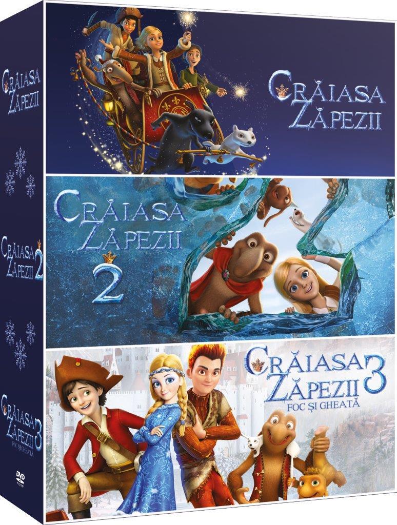 Trilogia Craiasa Zapezii / Snow Queen Trilogy thumbnail