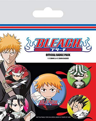 Set insigne - Bleach, Chibi Characters thumbnail