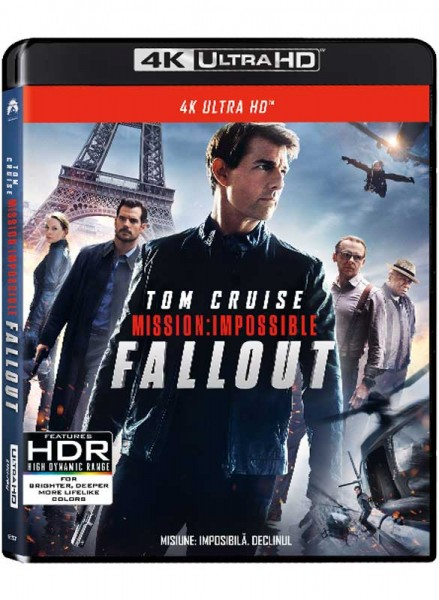 Misiune Imposibila: Declinul / Mission: Impossible - Fallout (Bluray 4k UltraHD) thumbnail