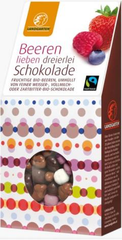 Fructe de padure in mix de ciocolata - Berry-Mix in chocolate