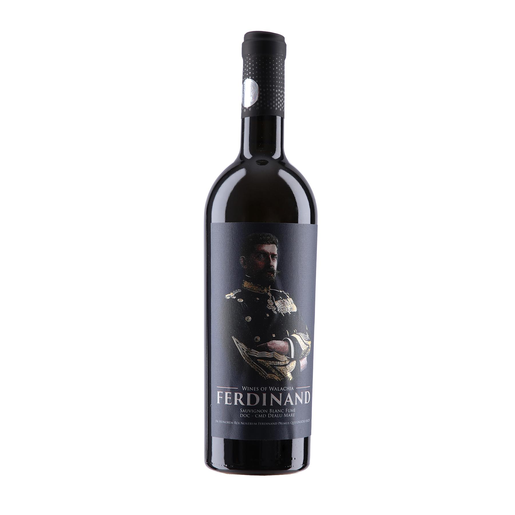 Vin alb - Ferdinand - Domeniile Sahateni - Aurelia Visinescu, Sauvignon Blanc Fumee, sec thumbnail