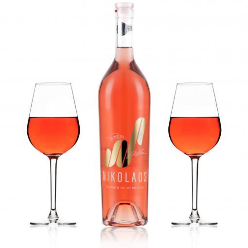 Vin rose - Nikolaus, Merlot, rose, sec thumbnail