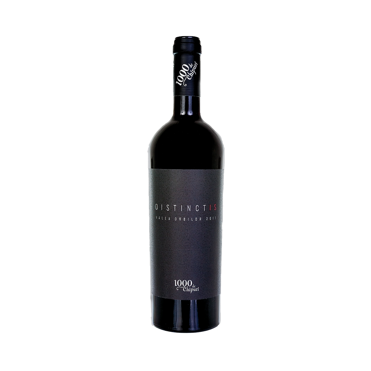 Vin rosu - 1000 de chipuri Distinctis, 2011, sec 1000 de chipuri