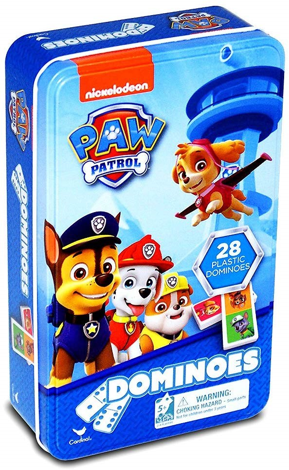 Joc Domino- Paw Patrula Catelusilor Domino in cutie | Viva Toys