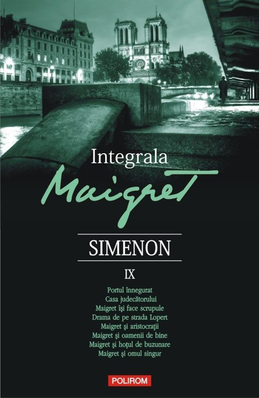 Integrala Maigret IX   Georges Simenon