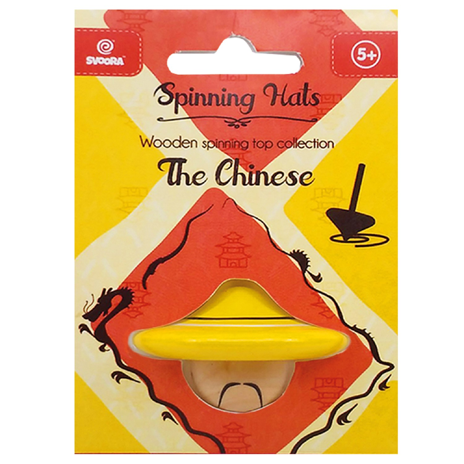 Titirez din lemn - Spinning Hats! The Chinese thumbnail