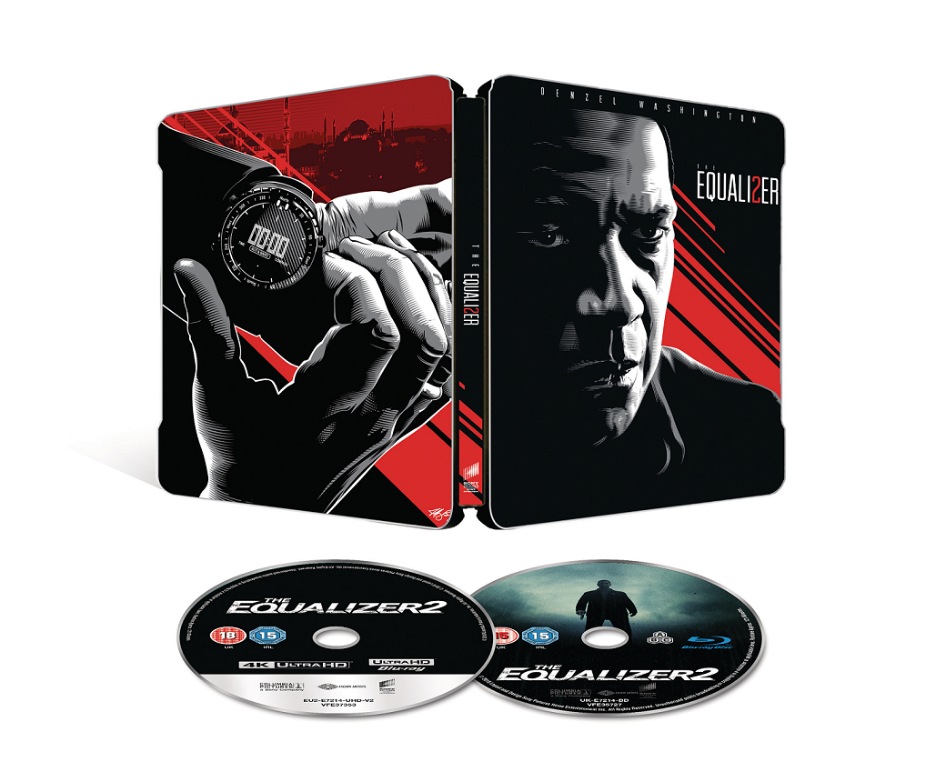 Equalizer 2 (4K Ultra HD + Blu-ray / The Equalizer 2 - UHD 2 discuri ) (Steelbook editie limitata) thumbnail