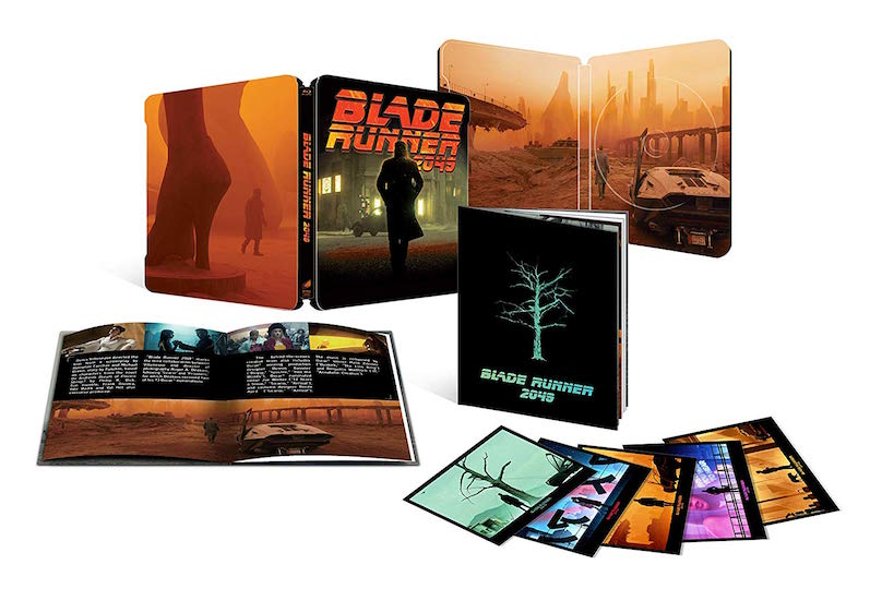 Vanatorul de recompense 2049 / Blade Runner 2049: X-Mas Pack Steelbook Limited Collector's Edition - BLU-RAY 2D + disc bonus + booklet + 5 postcards thumbnail