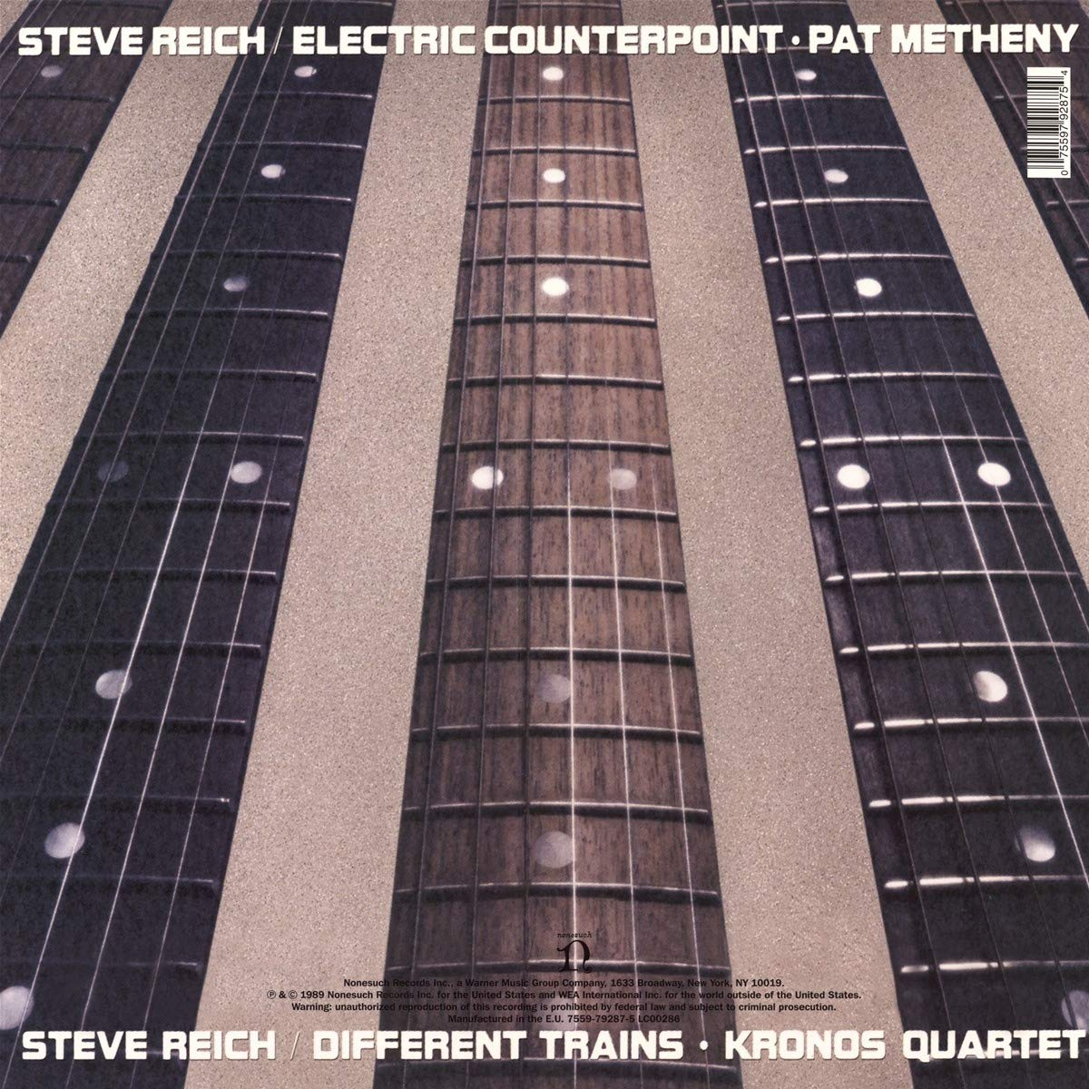 Different Trains / Electric Counterpoint - Vinyl thumbnail