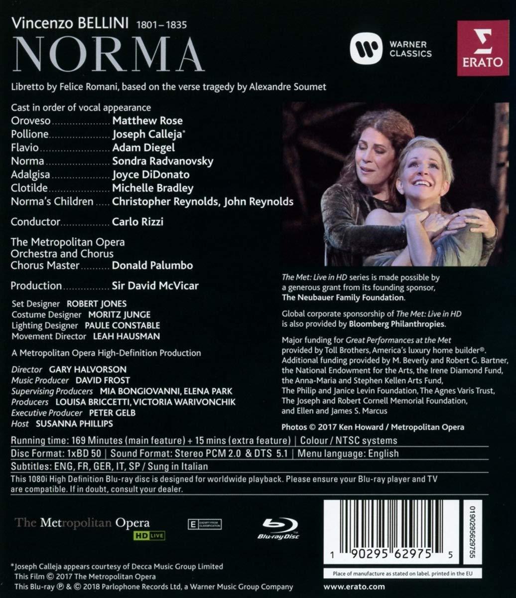 Bellini: Norma (Blu-Ray Disc) thumbnail