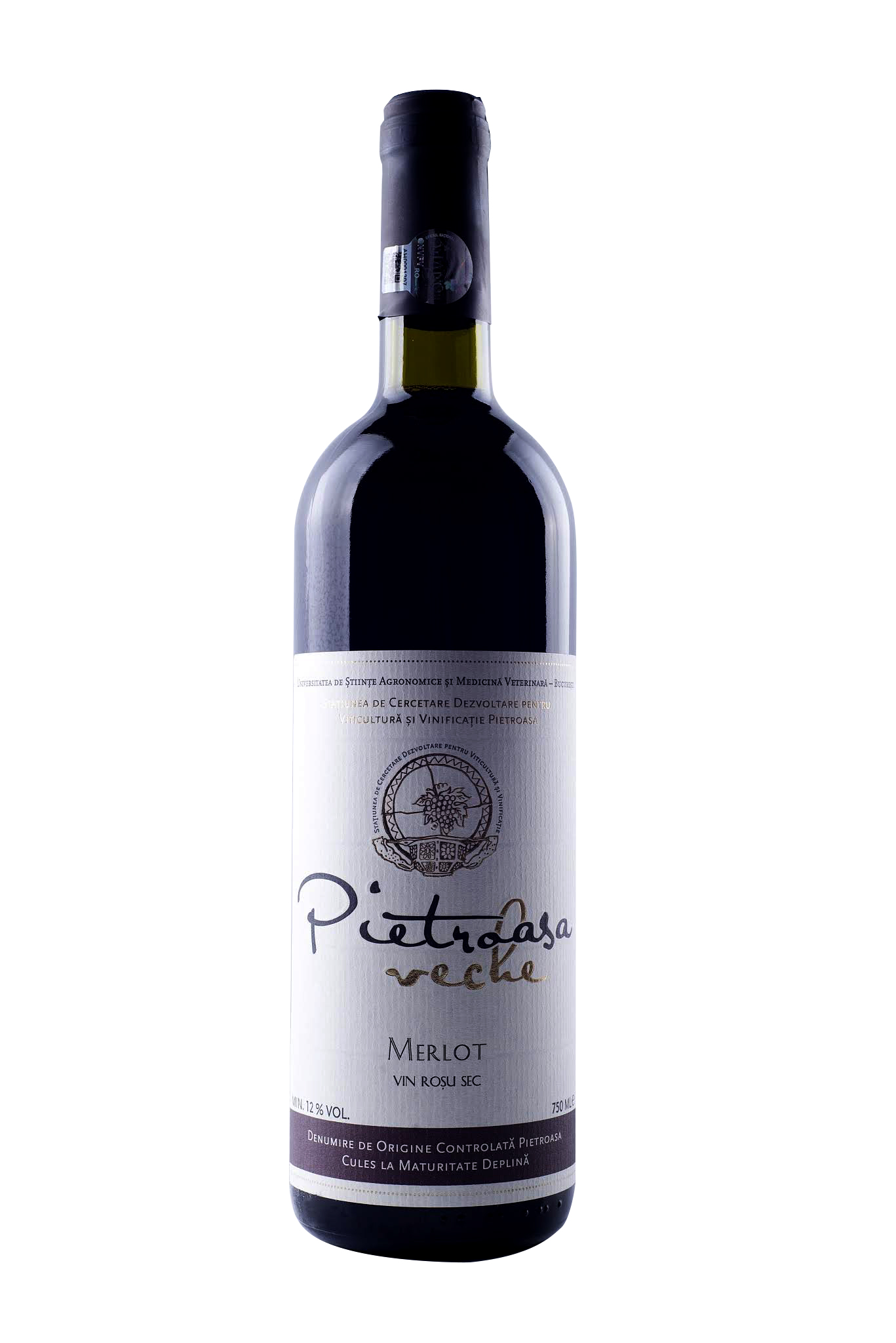 Vin rosu - Pietroasa Veche, Merlot, sec thumbnail
