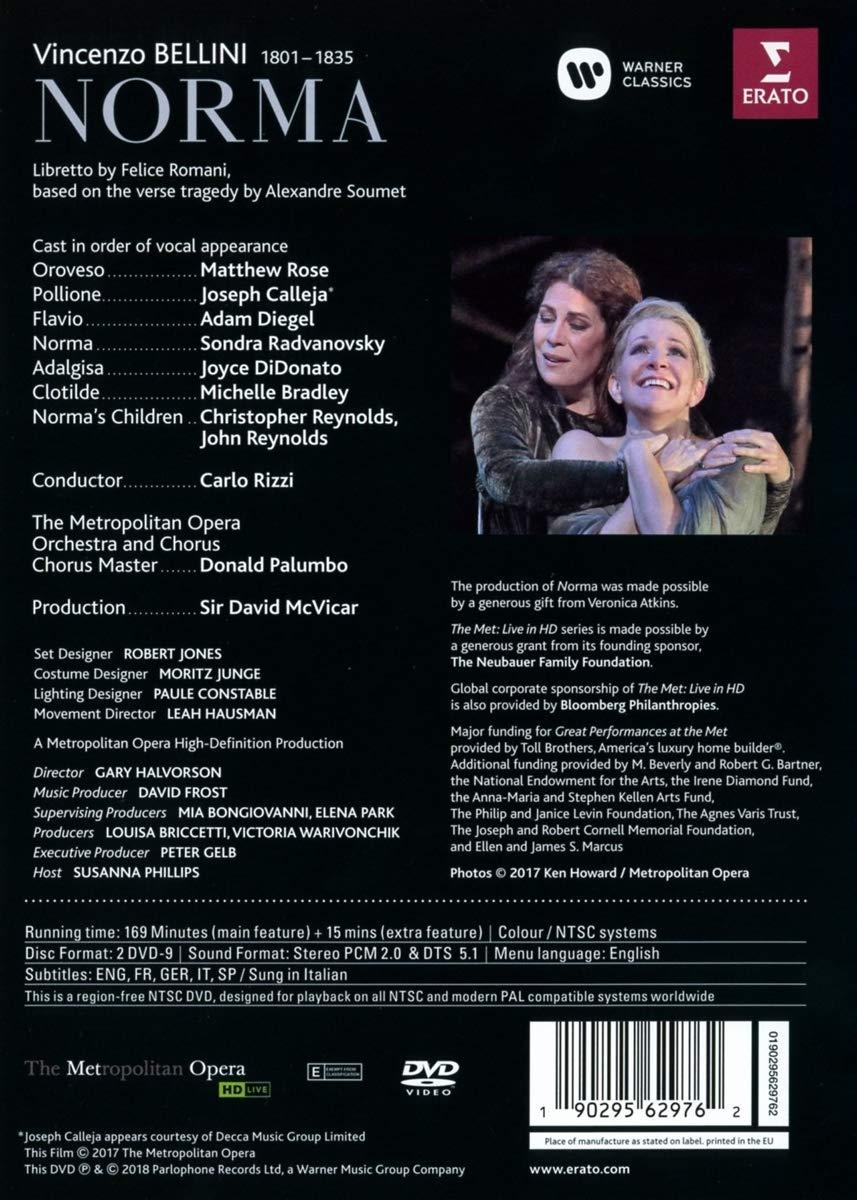 Bellini: Norma (DVD) thumbnail