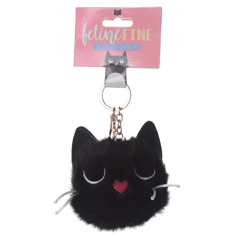 Breloc - Feline fine cat pom-pom thumbnail