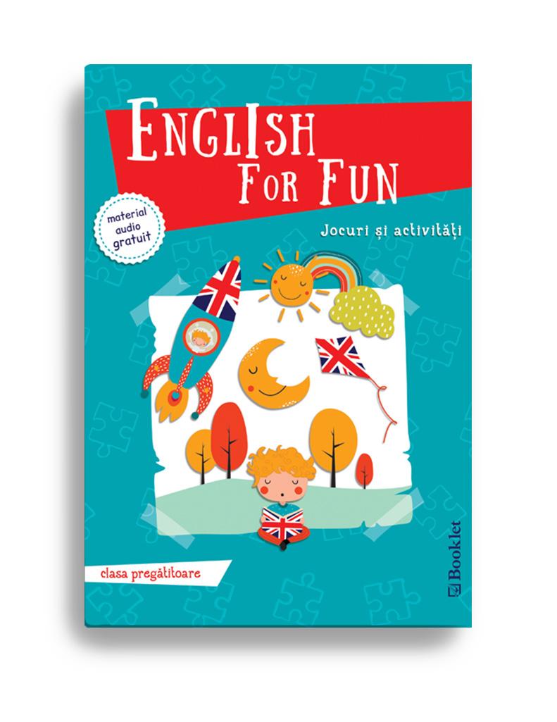 English For Fun – Jocuri Si Activitati Pentru Clasa Pregatitoare |