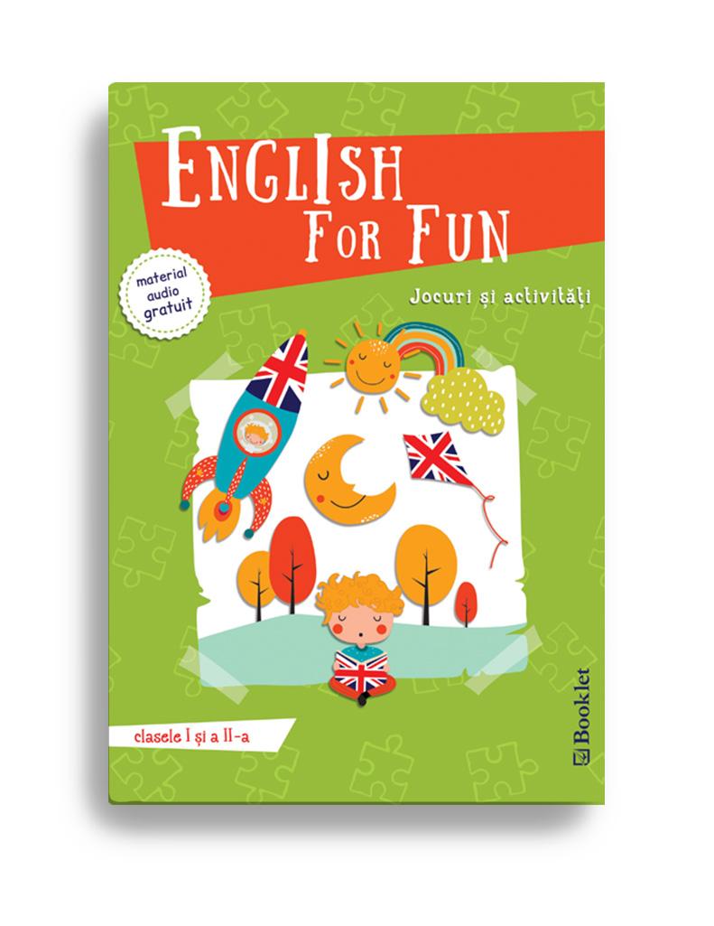 Imagine English Fo Fun – Jocuri Si Activitati Pentru Clasele I A Ii-a -