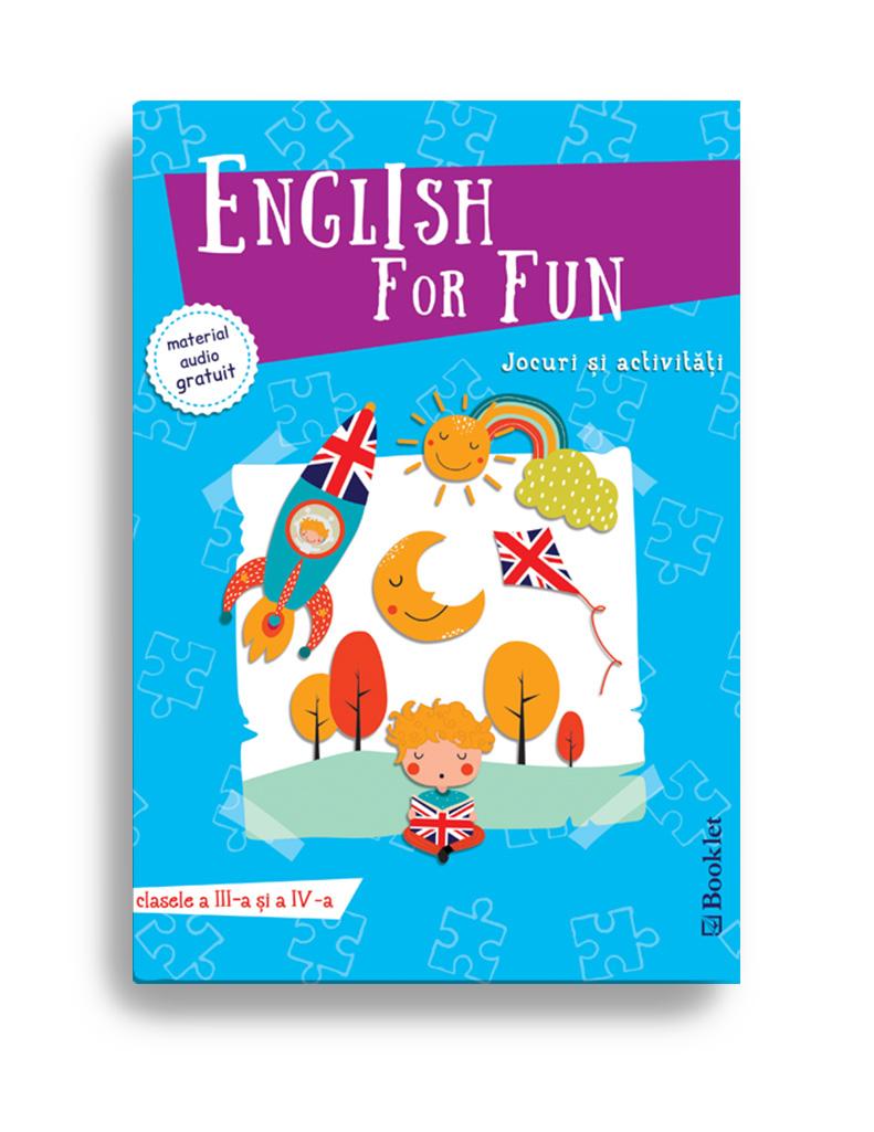 Imagine English For Fun – Jocuri Si Activitati Pentru Clasele A Iii-a Iv-a