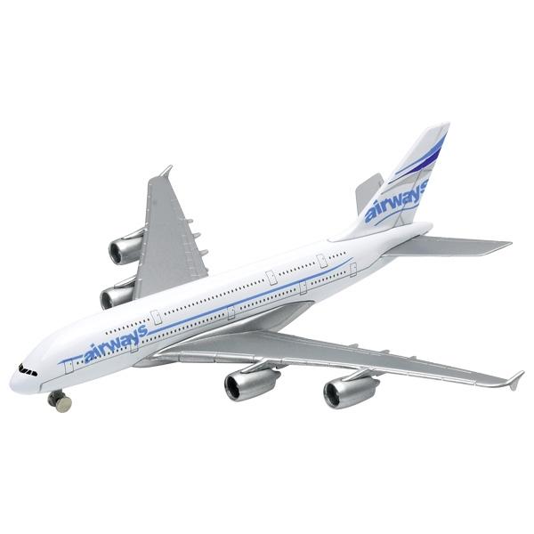 Jucarie - Avion Airbus A380, 14.5cm | Goki