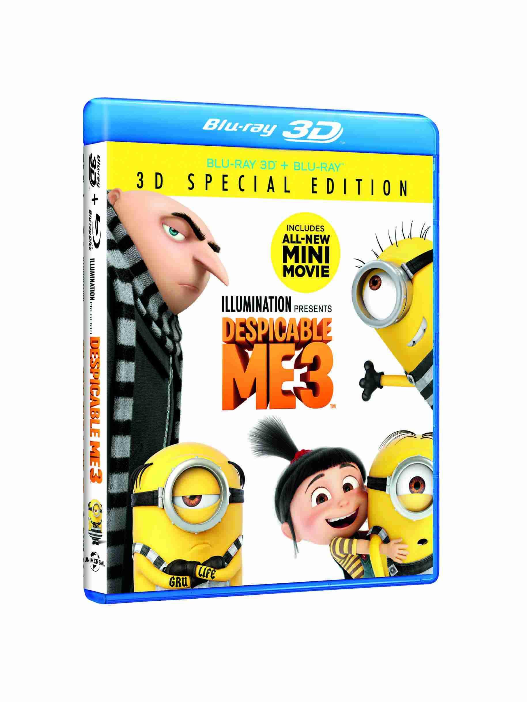 Sunt un mic ticalos 3 2D+3D (Blu Ray Disc) / Despicable me 3