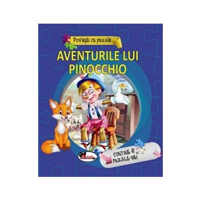 Povesti cu puzzle - Aventurile lui Pinocchio |