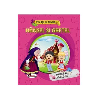 Povesti cu puzzle - Hansel si Gretel |
