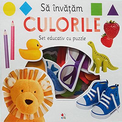 Sa invatam culorile. Set educativ cu puzzle |