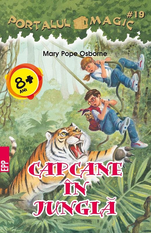 Imagine Capcane In Jungla - Mary Pope Osborne