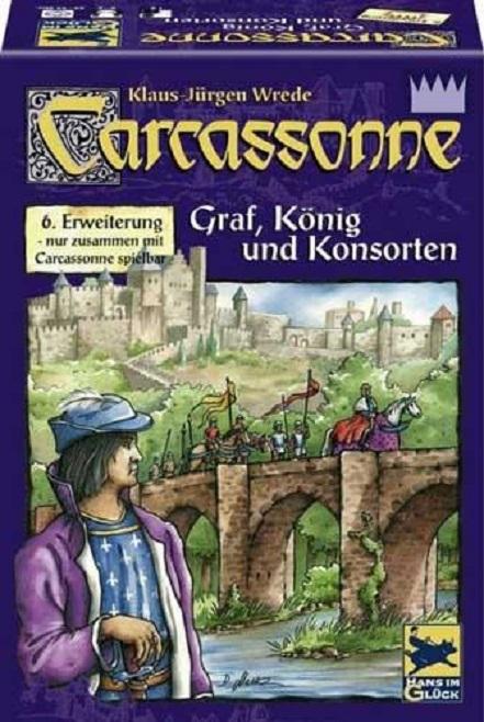 Carcassonne II Contele , regele si ceilalti - Extensia VI | Hans Im Gluck