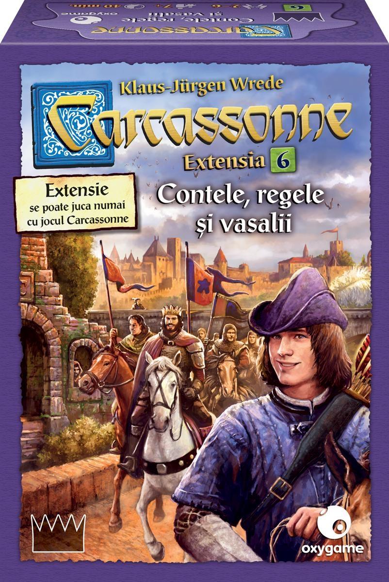Carcassonne II Contele, regele si vasalii - Extensia VI | Oxygame