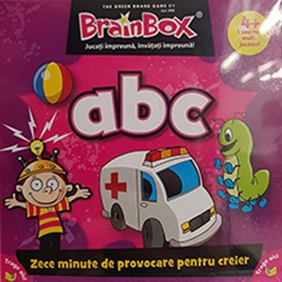 Brainbox ABC   Green Board Game