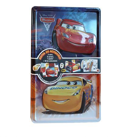 Cars 3. Cutia cu activitati