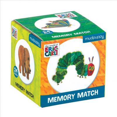 Joc de memorie - Eric Carle the Very Hungry Catepillar | Mudpuppy