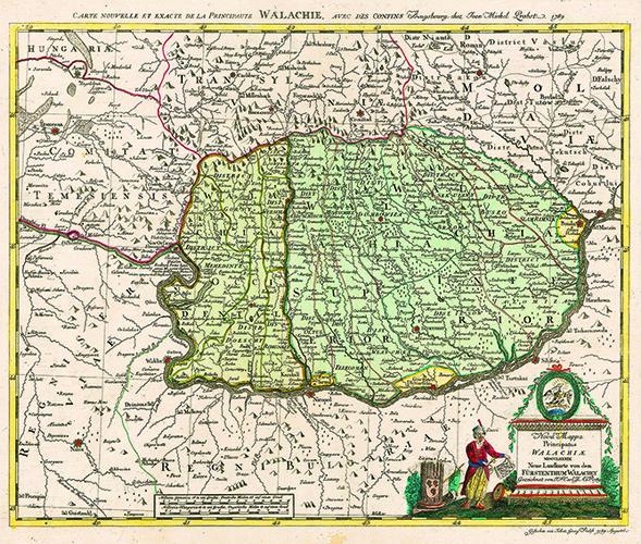 Harta Valahia 1789