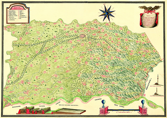 Harta Banat 1739