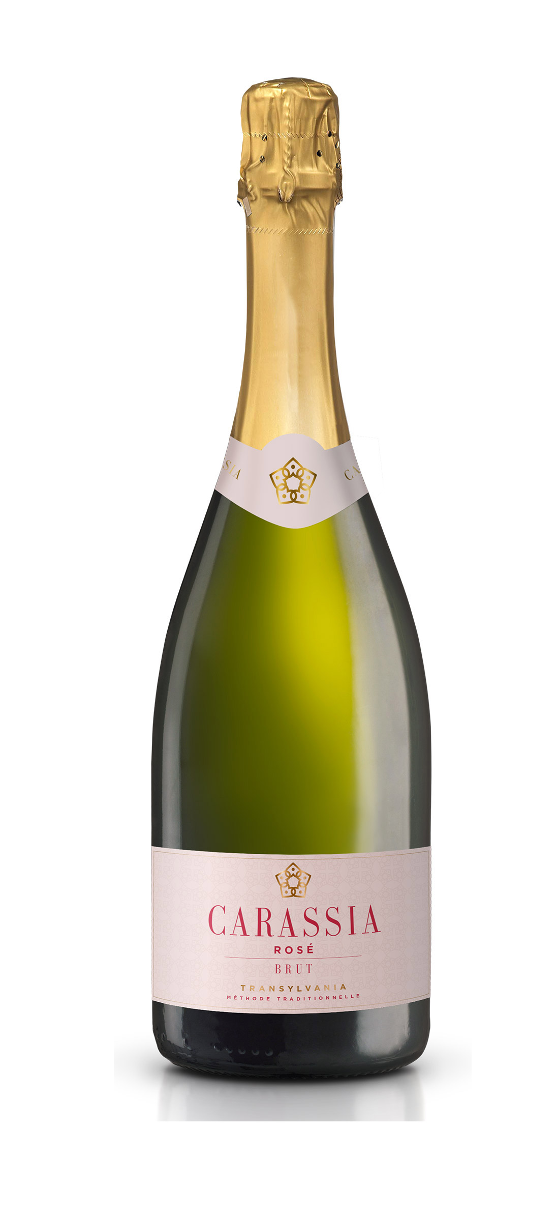 Vin spumant - Carassia Pinot Noir rose, brut, 2015 Carastelec Winery