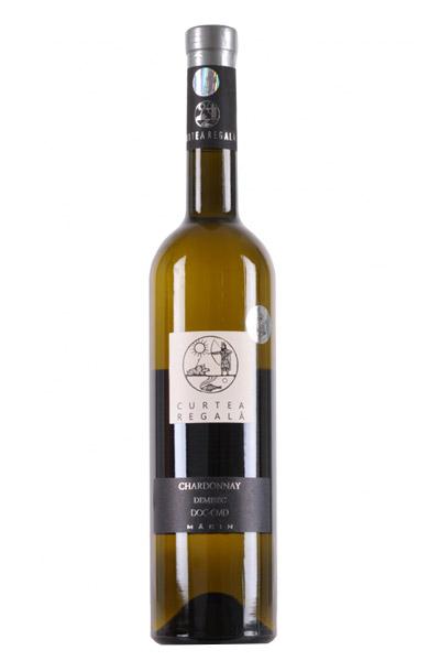 Vin alb - Curtea Regala Chardonnay, 2015, sec Curtea Regala